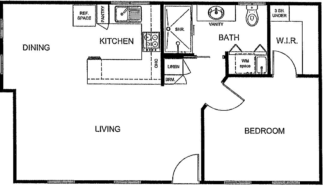 Modern One-Bedroom Granny Flat Plans