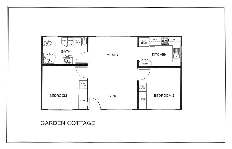 Chelsea Additional Plans - GARDEN COTTAGE