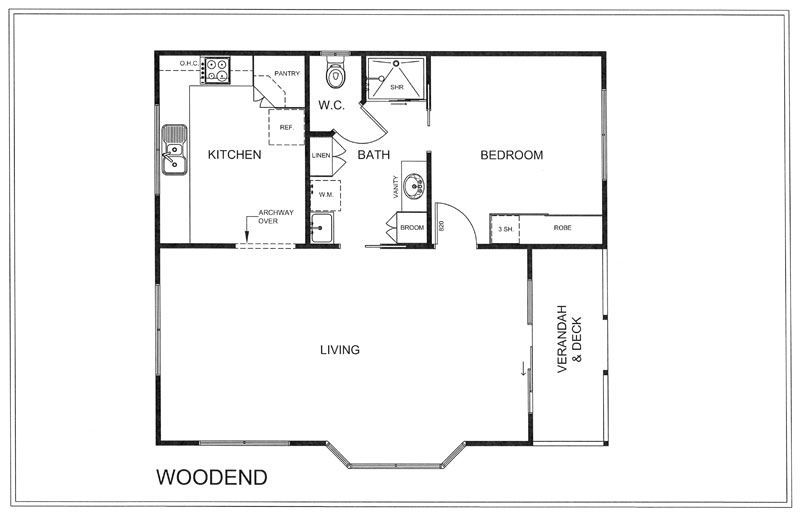 Woodgrove Additional Plans - WOODEND