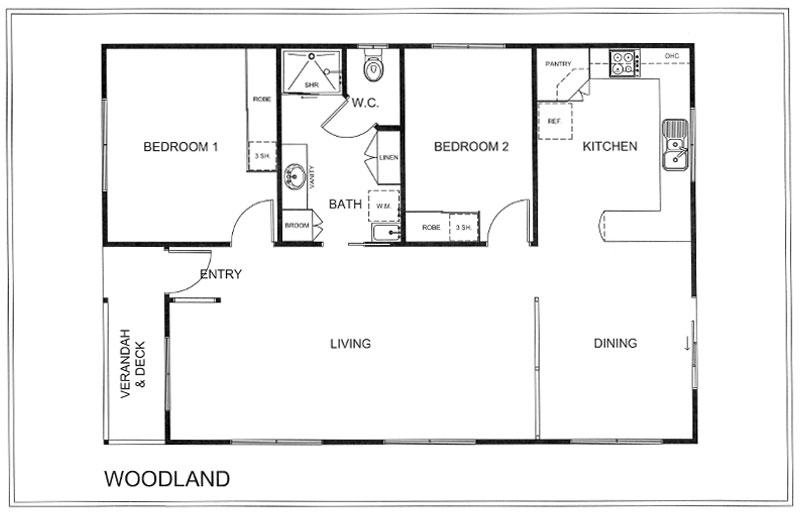 Woodgrove Additional Plans - WOODLAND