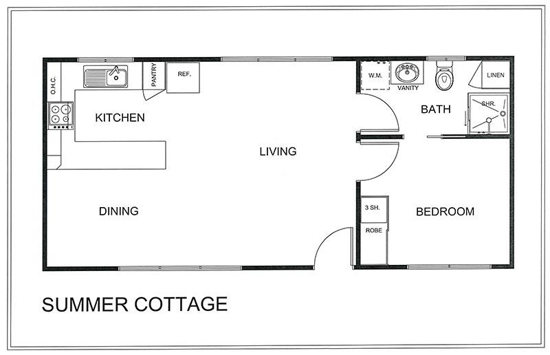 Yarra Cottage Additional Plans - SUMMER COTTAGE