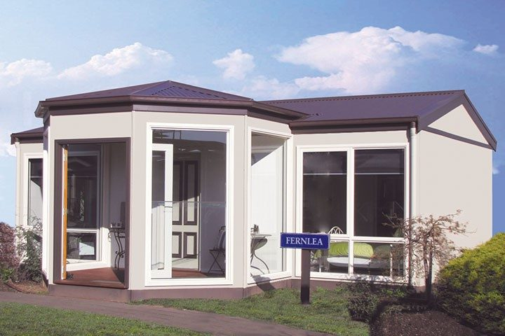 New Granny Flat Display Homes - Fernlea, Exterior with Conservatory