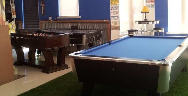 Backyard Games Room