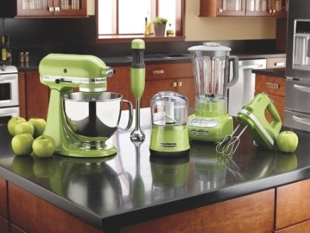 Premier Homes - Winter Colour Trends - Greenery Green Kitchenaid