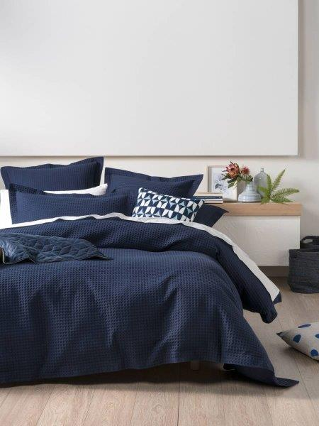 Premier Homes - Winter Colour Trends - Navy Quilt Cover from Linenhouse