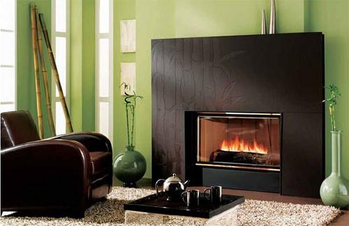 granny flat fireplace