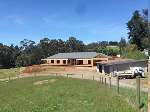 Wandin East Dwelling – Work in Progress!