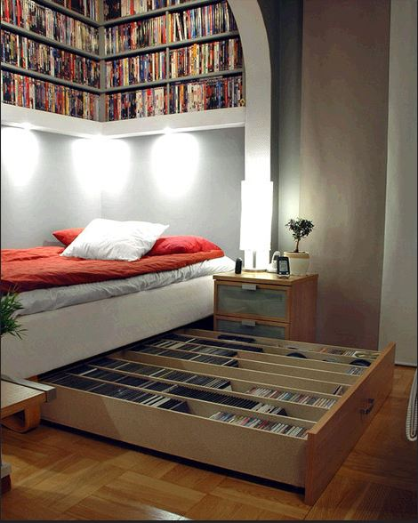 Bedroom Space Saving Tips