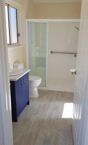 granny flat bathrooms